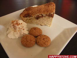 Amaretti (Macaroons) and Coffee cake