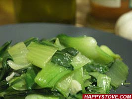 Stir Fry Bok Choy - By happystove.com