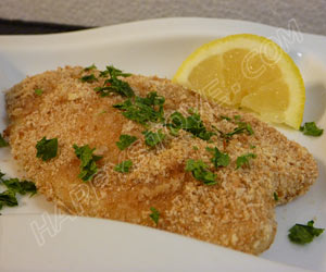 Oven Baked Breaded Tilapia