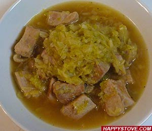 Cabbage and Pork Stew