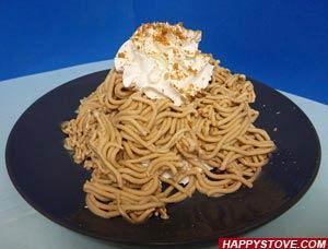 Spaghetti Gelato - By happystove.com