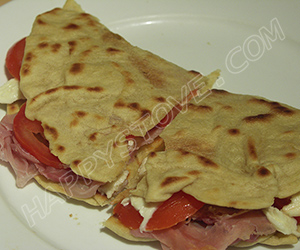 How to make Italian Piadina Flatbread