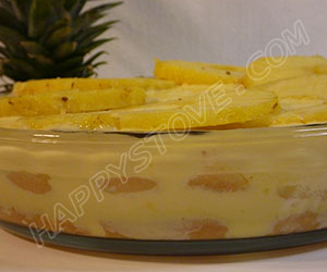 Pineapple Tiramisu - By happystove.com