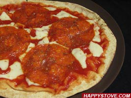 Pita Pizza - By happystove.com