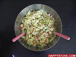 Rice Salad - By happystove.com