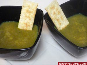 Sweet Pea Soup - By happystove.com