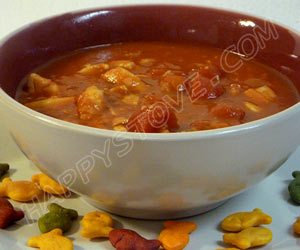 Tilapia Tomato Soup - By happystove.com