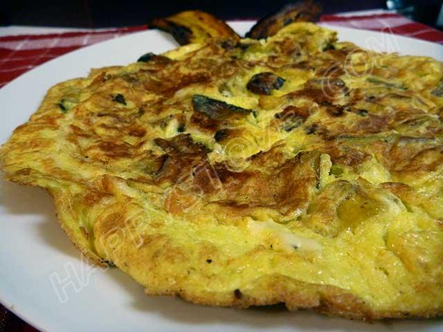Plantains Omelette
