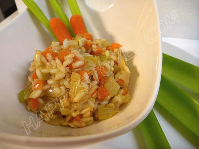 Veggie Risotto - By happystove.com